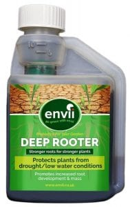 front view of Envii Deep Rooter Concentrate bottle our plant root stimulator
