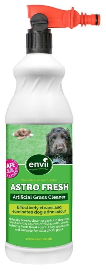 front view of Envii Astro Fresh bottle with trigger for our artificial grass cleaner