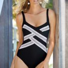 Charmline two tone swimsuit